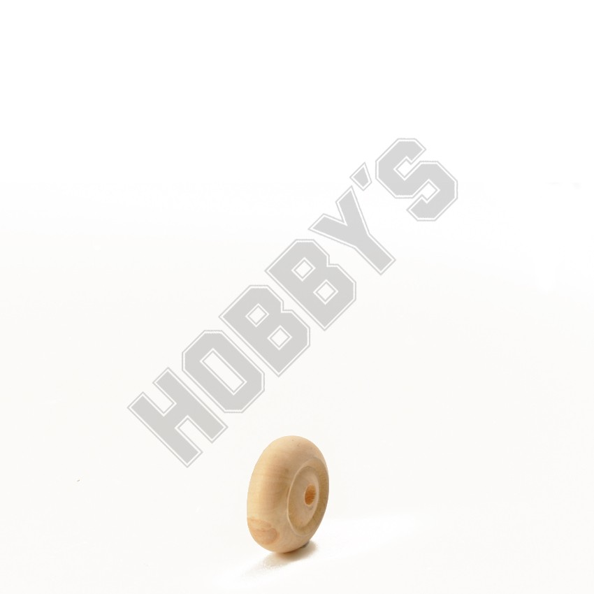 Wooden Toy Wheels - Pkt.2