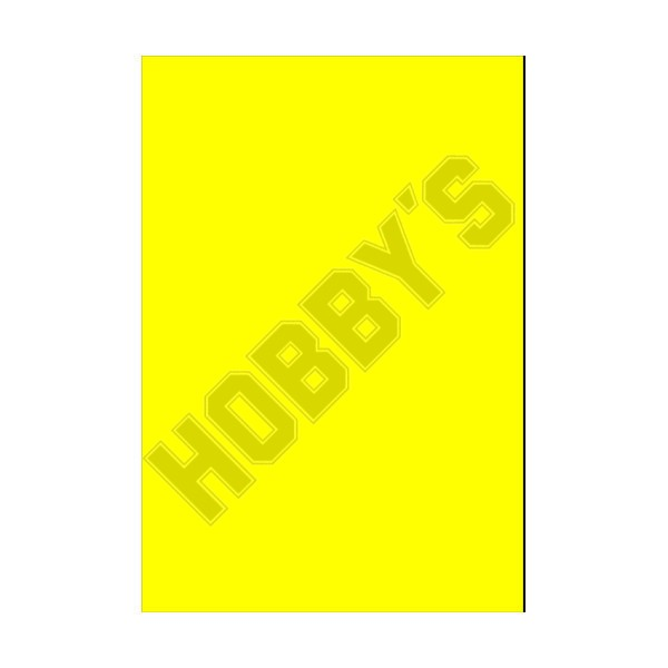 Coloured PVC - Yellow