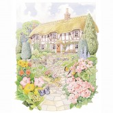 Thatched Cottage Cut 'n' Craft