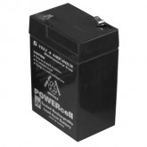 Powercell Rechargeable Gel Battery 6V-4Ah