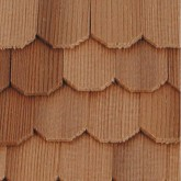 Cedar Roof Shingles - Hexagonal
