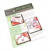 White Decal Paper Sheet