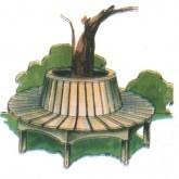 Round Tree Seat Plan