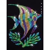 Sequin Art - Angel Fish