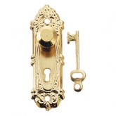 """Gold - Plated """"Opryland"""" Door Handle"""