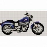 Harley Davidson Low Rider - Cross Stitch