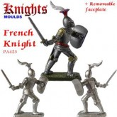 Medieval French Knight on foot