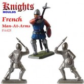 Medieval French Man-At- Arms with warhammer