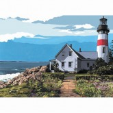 Artist Canvas - The Lighthouse