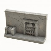 Unpainted Fireplace - Stone