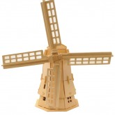 Windmill Woodcraft Contruction Kit