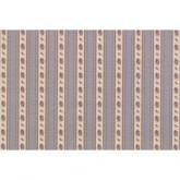 Flower Stripe Wallpaper
