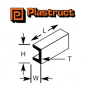 Plastruct - Deep Channel