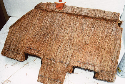 Finished Thatched Roof