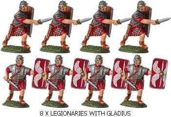 Roman & Briton Moulds