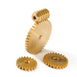 Brass Worm & Gears