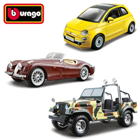Burago Die Cast Metal Model Kits