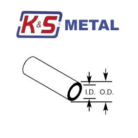 Metric Round Brass Tube