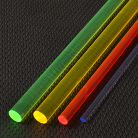Light Gathering Acrylic Rods