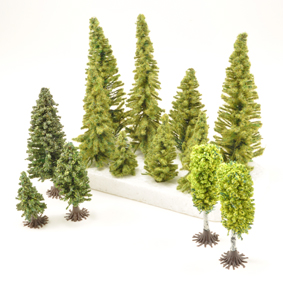 Modellers Range Of Trees