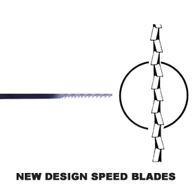 New Design 'speed' Blades