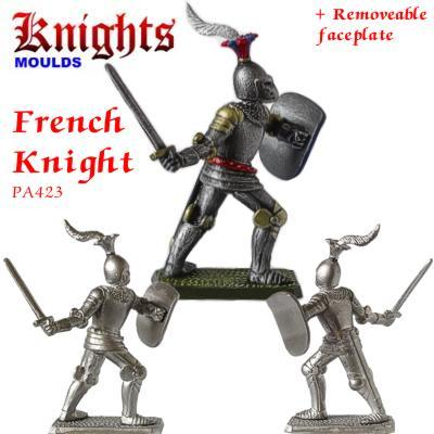 Medieval Knight Moulds 54mm