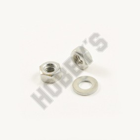 2BA - Hex Nuts and Washers