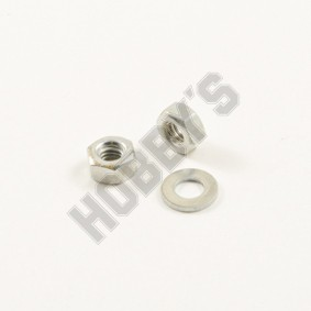 6BA - Hex / Nuts and Washers