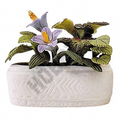 Flowers In Tub