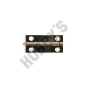 Nickel Butt Hinges - Screw Fixing 25mm