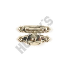 Nickel Plated Clasp - Pin Fixing