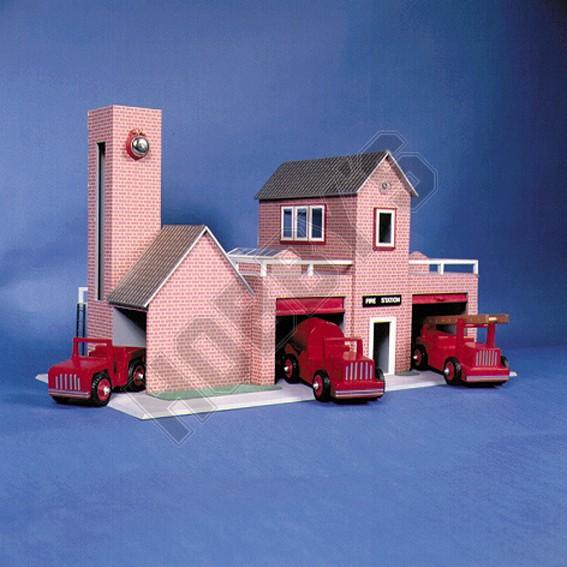 Fire Station Plan