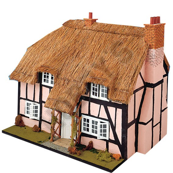 Shop thatched cottage hobbys for Thatched house plans
