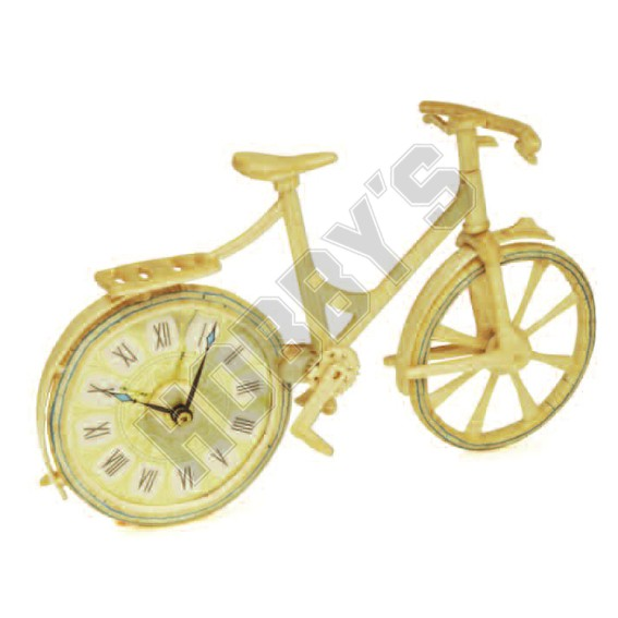 Matchstick Bicyle Clock