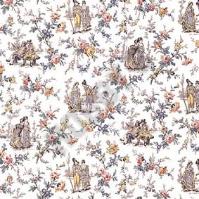 Society Gardens Wallpaper - Multicoloured