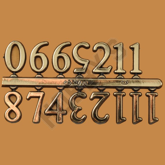 Arabic Numerals - 1Inch