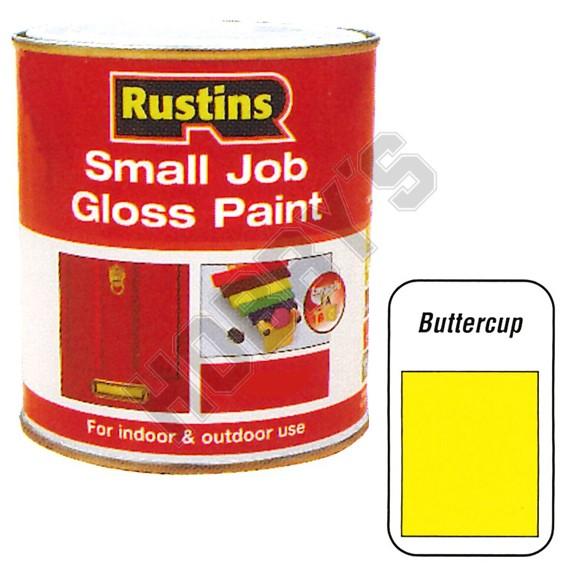 Gloss paint buttercup