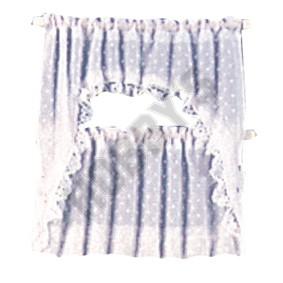White Ruffled Cape Curtain