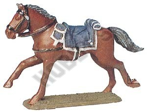 French Cuirassiers Officer's Horse