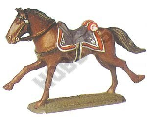 French Polish Lancers Officer's Horse