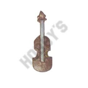 Large Violin - Metal Miniature