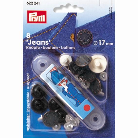 Jeans Poppas - Buttons