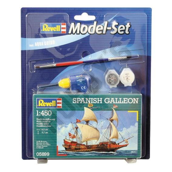Spanish Galleon Model Set