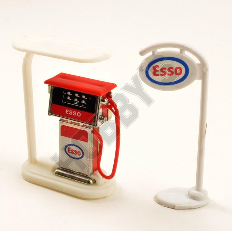 Petrol Pump & Sign