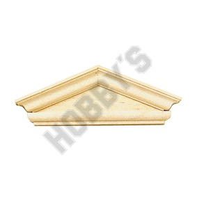 Federal Style Hooded Pediment
