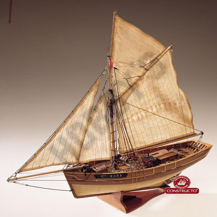 Le Camaret Model Boat Kit