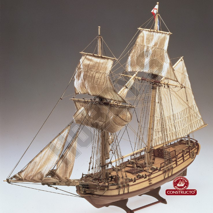 Halifax Model Ship Kit