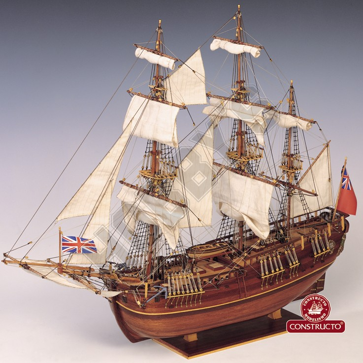 HM Bark Endeavour Model Ship Kit