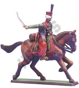 Mounted Mameluk figure
