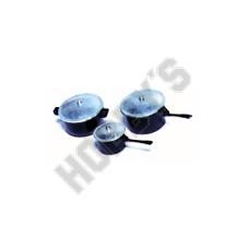 3 Saucepans - Metal Miniatures